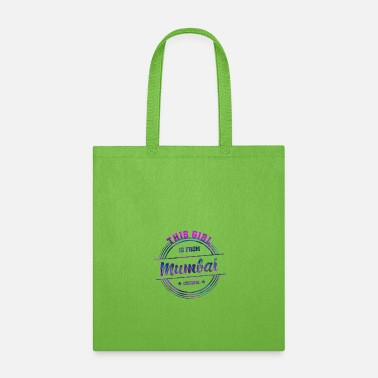 Suburban Mumbai India Girl - Tote Bag