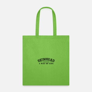 Rocksteady Skinhead graphic | Army Green Military Style - Tote Bag
