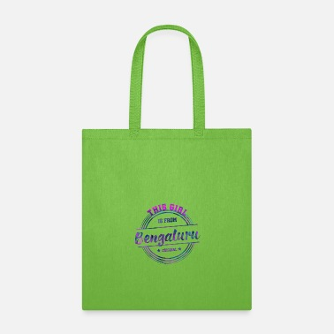 India Bengaluru Bengalore Girl - Tote Bag