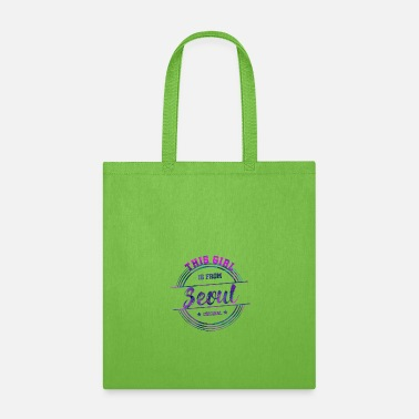 Tourist Seoul South Korea Girl - Tote Bag