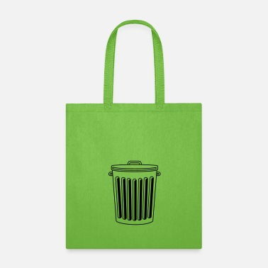 Ecology throw away bin garbage bin garbage garbage garbage - Tote Bag