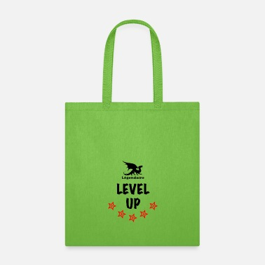 Flashy Legendaire Level-Up Black - Tote Bag