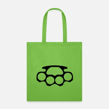 Brass Knuckles Knuckled brass - Tote Bag