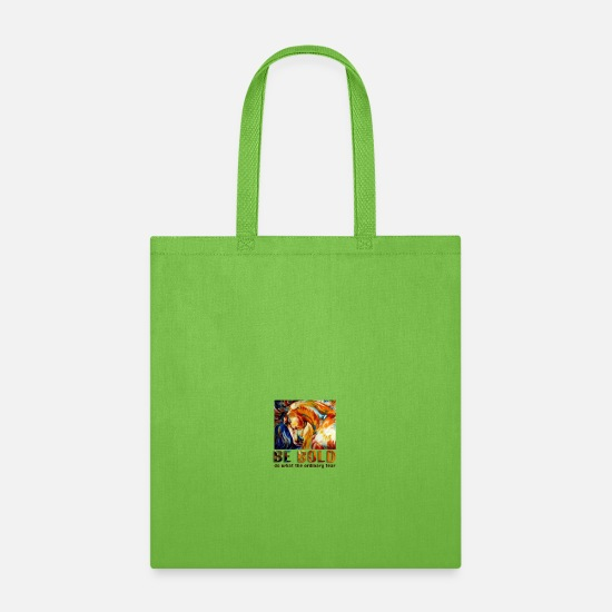 Horse Bags & Backpacks - Be bold - Tote Bag lime green