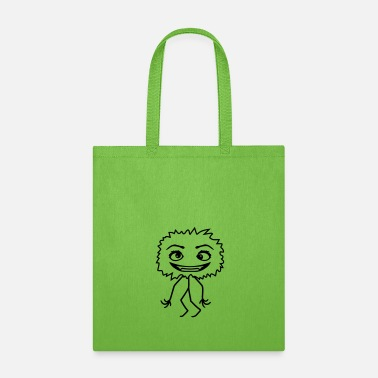 Vampire female small hairy fluffy girl woman crazy crazy c - Tote Bag