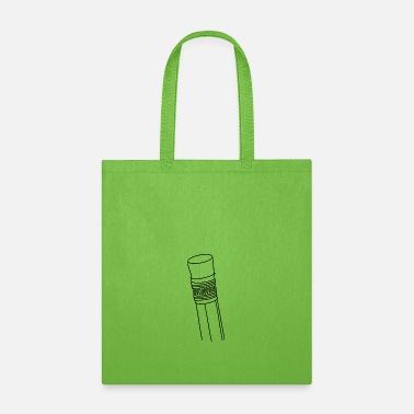 Clean What It Is Pencil clean - Tote Bag