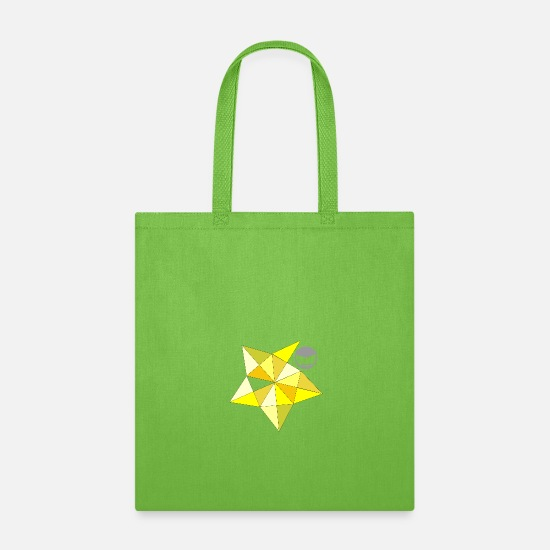 Love Bags & Backpacks - Shy yellow - Tote Bag lime green