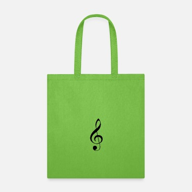Note Clue G note - Tote Bag