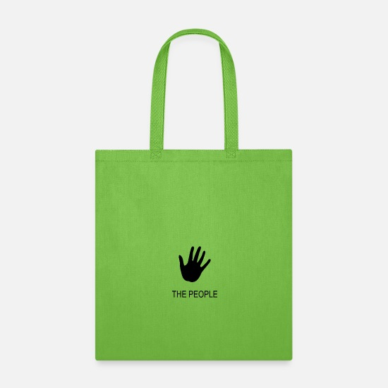 November Bags & Backpacks - THE PEOPLE - Tote Bag lime green