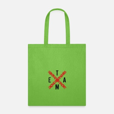 Party Monster x rotes kreuz teammitglied crew verein freunde par - Tote Bag