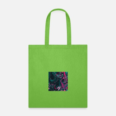 Ink Abstract Paint Mix 18 - Tote Bag