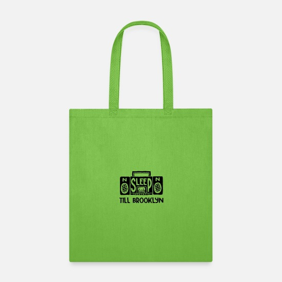 Radio Tower Bags & Backpacks - Retro Radio - Tote Bag lime green