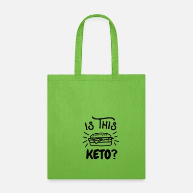 Bomb burger keto meat eater love fat diet slimming gift - Tote Bag