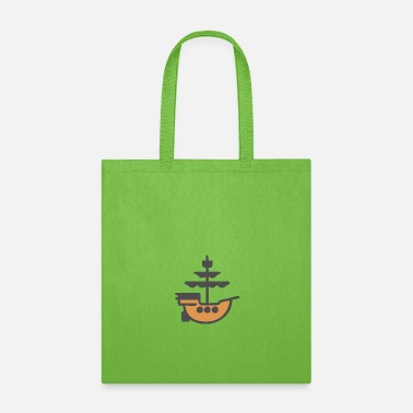 Ancient ancient boat - Tote Bag