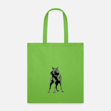 Sporty Sporty Wolf - Tote Bag