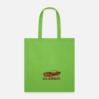 Muscle Car Classic car is a muscle car - Tote Bag