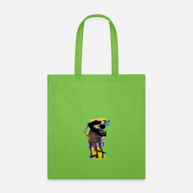 Abstract HEWGE HEW THE JEW Female Abstract Artsy Design - Tote Bag