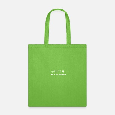 Sumu Lee I 8 Sum Pi ate some pie funny food nerd maths phys - Tote Bag