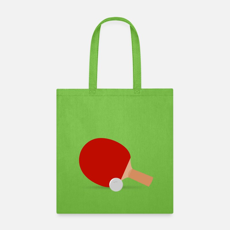 Bags Backpacks Ping Pong Tote Bag Lime Green