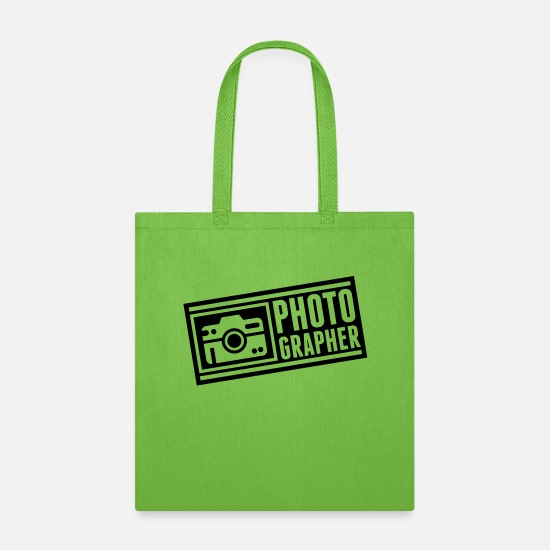 Photographer Bags & Backpacks - photographer_ny1 - Tote Bag lime green