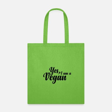 I am a Vegan - Tote Bag