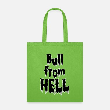 Hot Bull from hell - Tote Bag