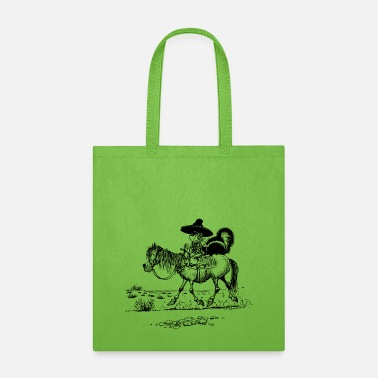 Thelwell Thelwell Bandit With Cute Skunk And Horse - Tote Bag