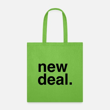 Helvetica new deal. black - Tote Bag