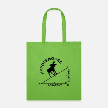 Mathematics Moose Math Geometry school quote gift - Tote Bag