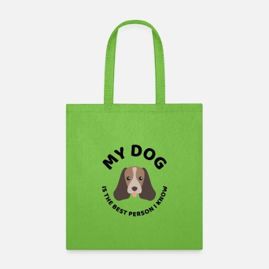 Walk The best person dog owner quote present - Tote Bag