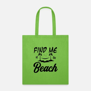 Mom Nurse Find me at the beach - Tote Bag