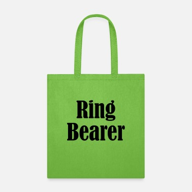 Wedding Day Ring Bearer, Wedding Ring, Wedding Day - Tote Bag