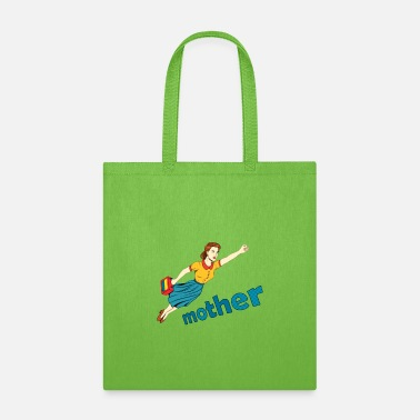 mom is my super mom - Tote Bag