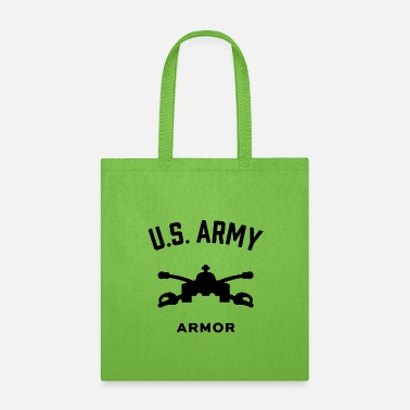 Schland US Army Armor - Tote Bag