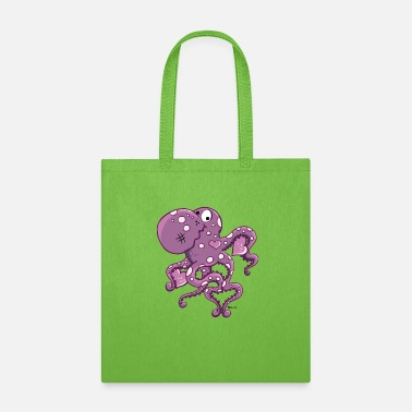 For Octopus Lovers Amorous Octopus - Tote Bag