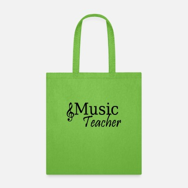 Key Music Teacher - Tote Bag