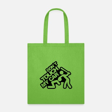 Don't touch my car! (2) Design by Crashed! - Tote Bag