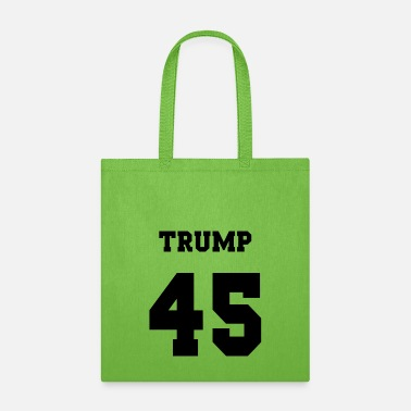 Jersey Number Trump 45 jersey number - Tote Bag
