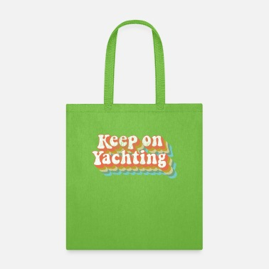 California Vintage Yacht Rock Party Boat Drinking Keep on - Tote Bag
