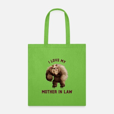 Skateboard I Love My Mother In Law - Tote Bag