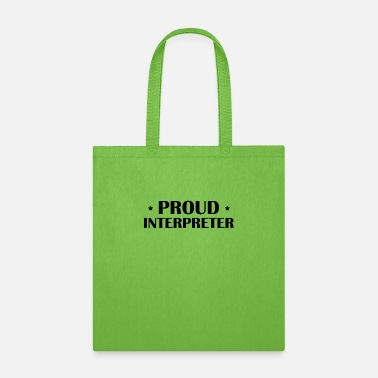Best Interpreter Translate Interpreting Translator Team - Tote Bag