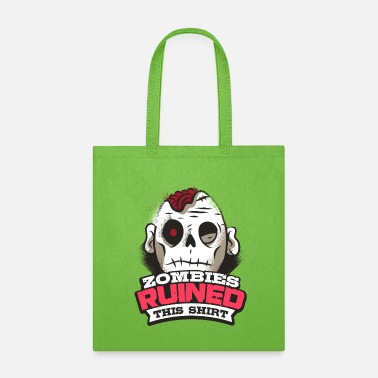 Apocalypse Zombie Ruined This Shirt - Tote Bag