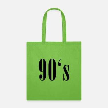 90 90s 90's nineties - Tote Bag