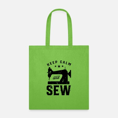 Motivation Sewing seamstress Tailor Sewer Sew Machine - Tote Bag