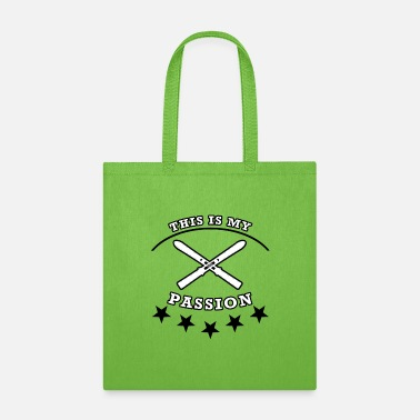 Skiing- this is my passion - Tote Bag