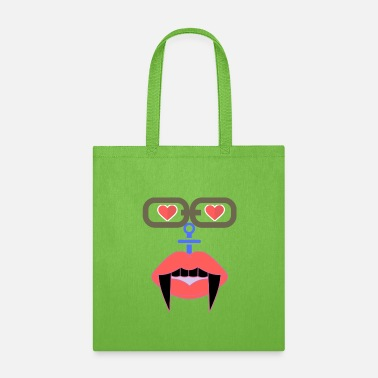 Mood Love and Hate design. - Tote Bag