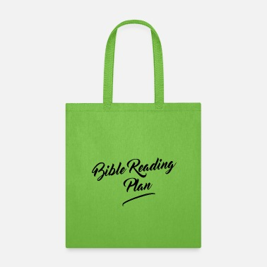 Christian Bible Reading Plan - Tote Bag