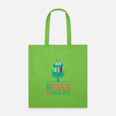 Icon Be Seen Be Heard - Tote Bag