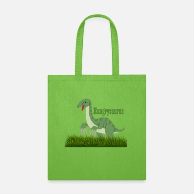 Attractive hungysaurus - Tote Bag