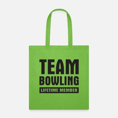 Player team bowling - Tote Bag